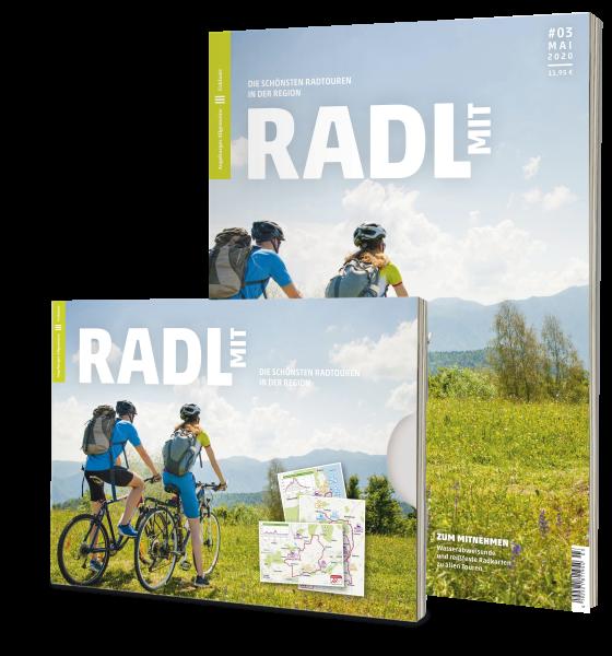 Radl mit Ausgabe 03