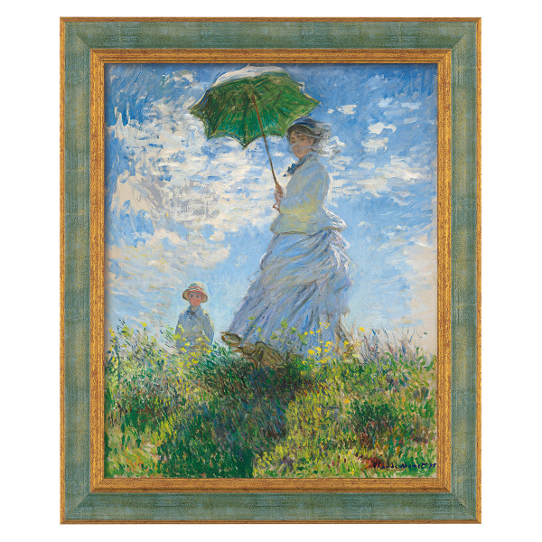 Claude Monet: Frau mit Sonnenschirm (1875)