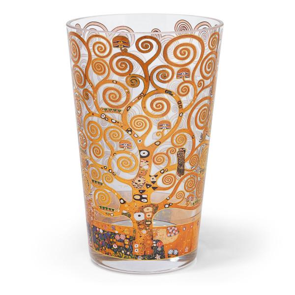 Gustav Klimt: Glasvase Lebensbaum