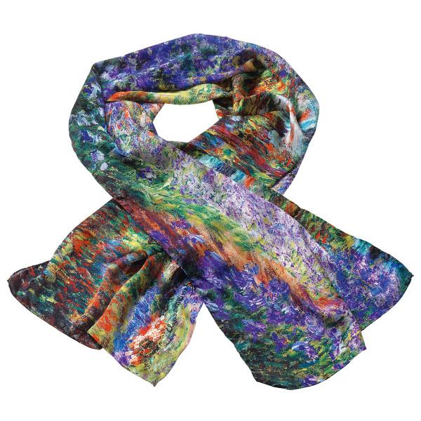 Claude Monet: Seidenschal
