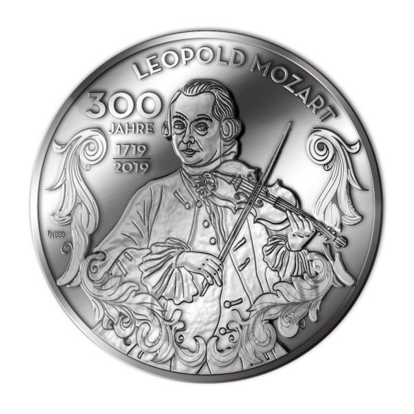 """Medaille """"300 Jahre Leopold Mozart"""
