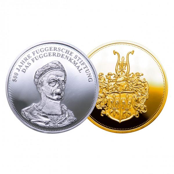 """Medaille """"Das Fuggerdenkmal"""""""