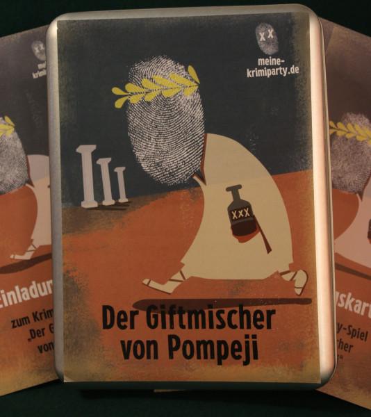 Krimiparty - Der Giftmischer von Pompeji