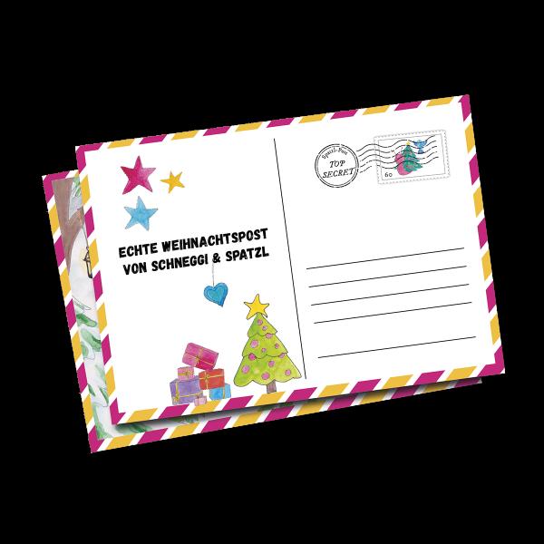 Echte Weihnachtspost - Ergänzung zu Adventskalender-Sets