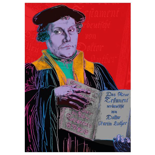 Luther Popart - verschiedene Motive