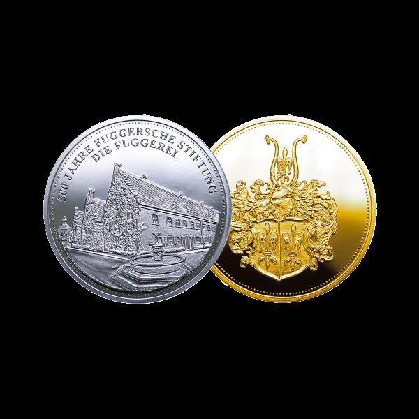 """Medaille """"Die Fuggerei"""""""