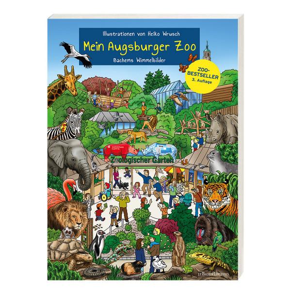 """Wimmelbilderbuch """"Mein Augsburger Zoo"""""""
