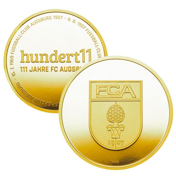 "Goldmedaille ""111 Jahre FC Augsburg"""