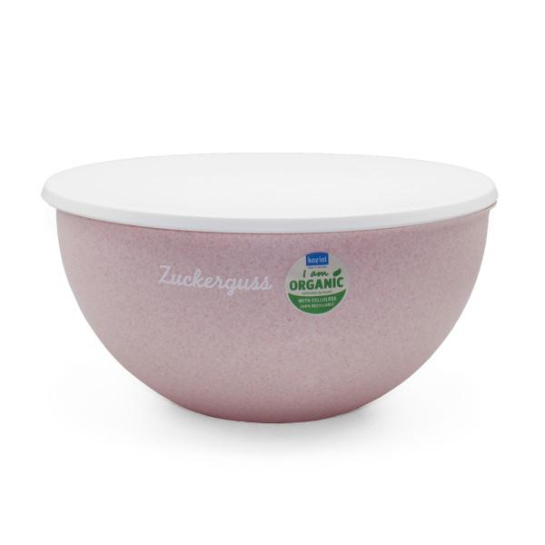Zuckerguss Rühr- oder Dessertschüssel rosa