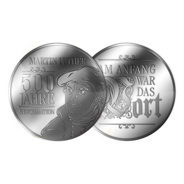 """Medaille """"500 Jahre Reformation Augsburg"""""""