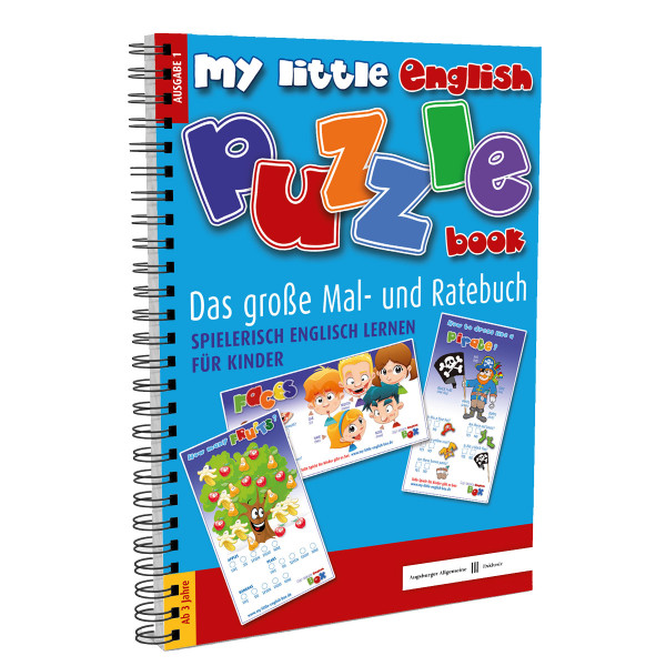 My little English Puzzle Book