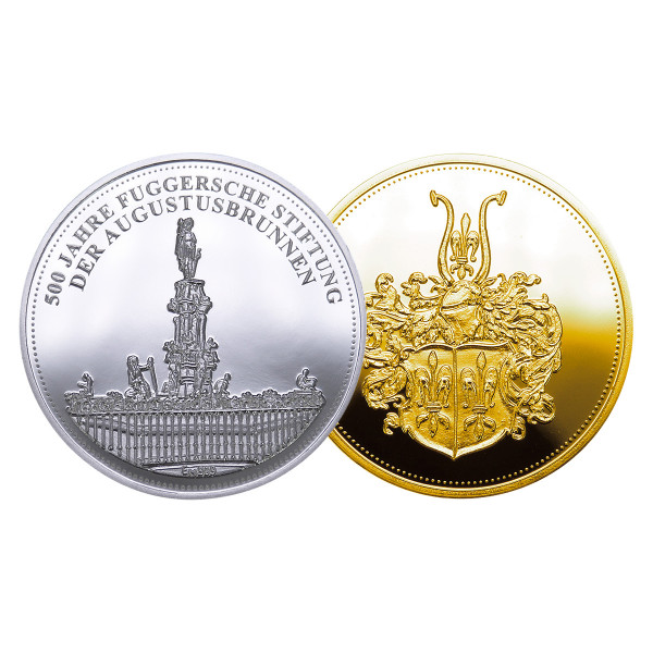 """Medaille """"Der Augustusbrunnen"""""""