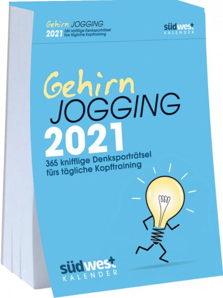 Gehirn Jogging Kalender 2021