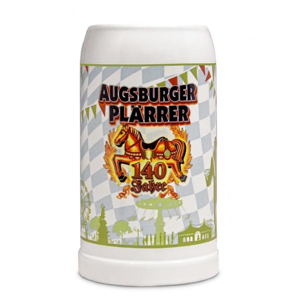 Bierkrug 140 Jahre Plärrer