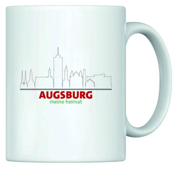 Heimat Haferl - Augsburg (Tasse)