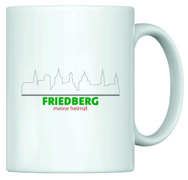 Heimat Haferl - Friedberg (Tasse)