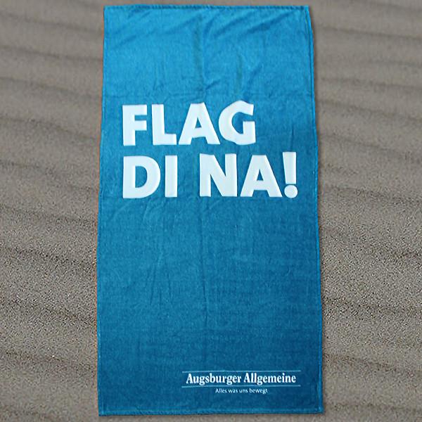 """Strandtuch """"Flag Di na"""""""