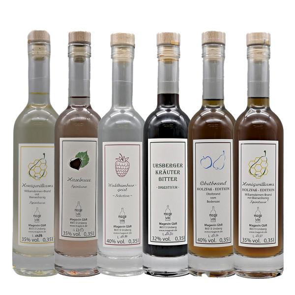 Schnaps-Paket (6 Flaschen)