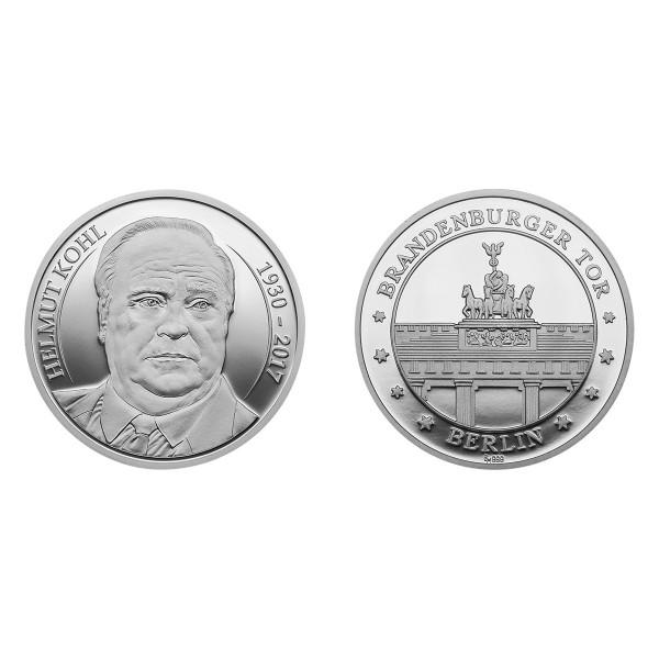 """Medaille """"Zu Ehren Helmut Kohl"""""""