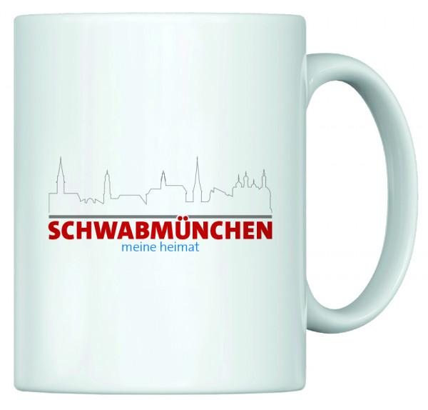 Heimat Haferl - Schwabmünchen (Tasse)